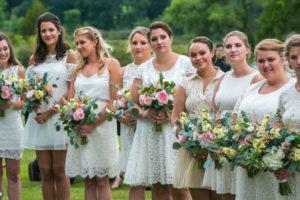 bridesmaids salon hair