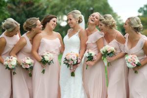 wedding bridal party salon