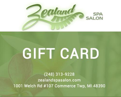 Zealand gift card